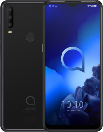 Alcatel 3X 2019 64GB DS Zwart