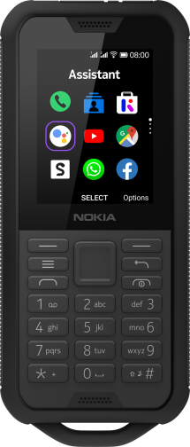 Nokia 800 Tough DS Zwart