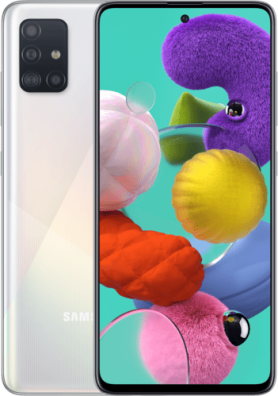 Samsung Galaxy A51 128GB Wit