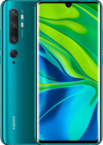 Xiaomi Note 10 128GB Groen